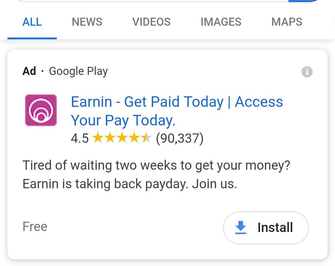 what is the earnin app